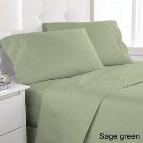 Sage 100% Bamboo Sheets with corner straps - Linens Wholesale
