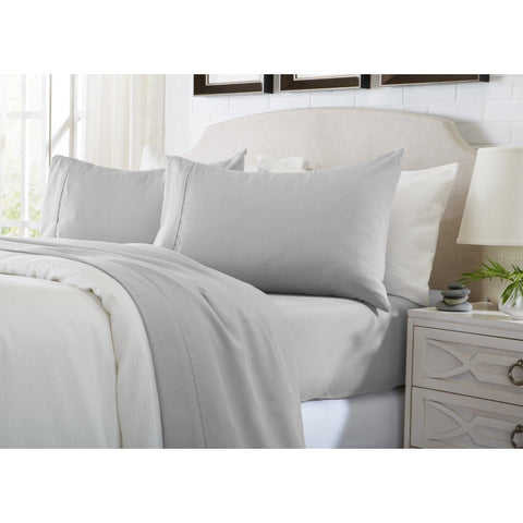 Patrick Michelle Silver Sheet Sets with corner straps