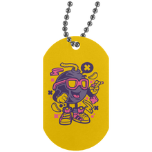 Load image into Gallery viewer, Bomb Silver Dog Tag