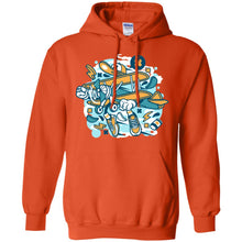 Load image into Gallery viewer, Aeroplane Pullover Hoodie 8 oz.