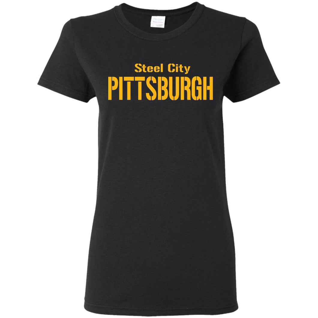 Pittsburgh 4 Ladies' 5.3 oz. T-Shirt