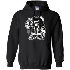 Bomber Pullover Hoodie 8 oz.