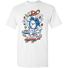 Load image into Gallery viewer, Twin Bell Clock T-Shirt
