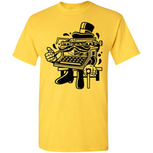 Load image into Gallery viewer, Classic Typewriter Gentleman T-Shirt