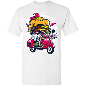 Burger Scooter T-Shirt