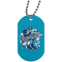 Load image into Gallery viewer, Binocular Silver Dog Tag