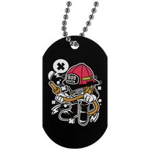 Load image into Gallery viewer, Firefighter Silver Dog Tag