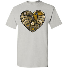 Load image into Gallery viewer, Steampunk Heart T-Shirt