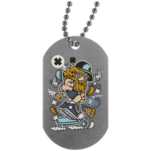 Load image into Gallery viewer, Go Ride Silver Dog Tag