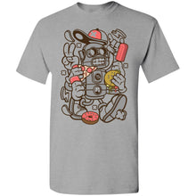 Load image into Gallery viewer, Junk Food Robot T-Shirt