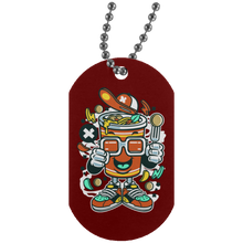 Load image into Gallery viewer, Cup Noodle Silver Dog Tag