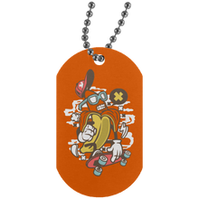 Load image into Gallery viewer, Banana Silver Dog Tag