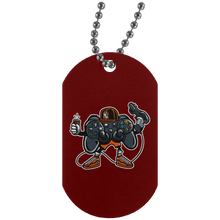 Load image into Gallery viewer, Let's Play 2 Silver Dog Tag