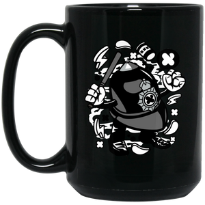 London Policeman 15 oz. Black Mug