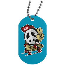 Load image into Gallery viewer, Peace Silver Dog Tag