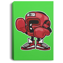 Load image into Gallery viewer, Boxing Champion Portrait Canvas .75in Frame