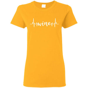 """Wine 1"" Ladies' T-Shirt"