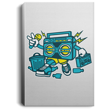 Load image into Gallery viewer, Boombox Portrait Canvas .75in Frame
