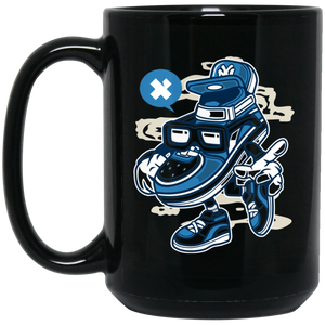 Street Shoe Bastard 15 oz. Black Mug
