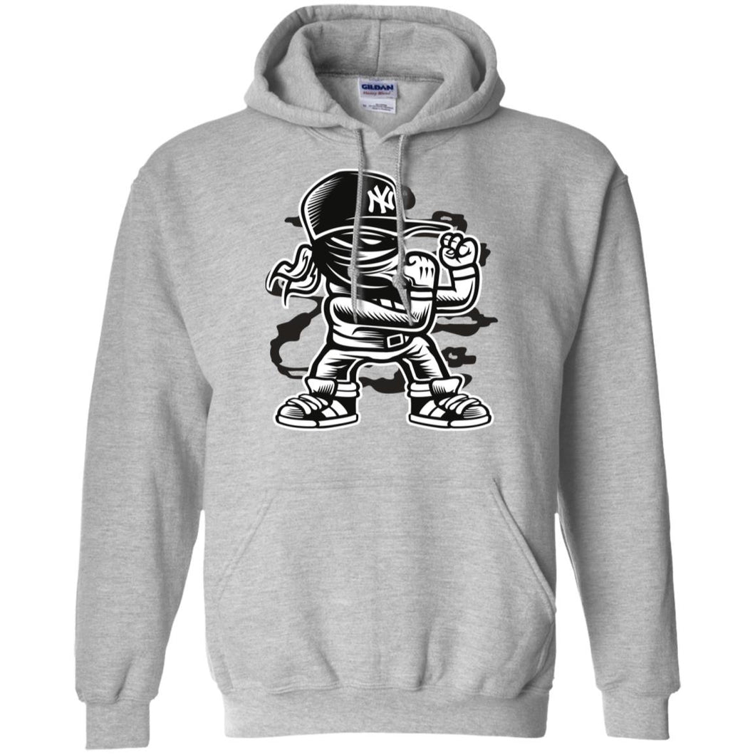 Fighter Pullover Hoodie 8 oz.