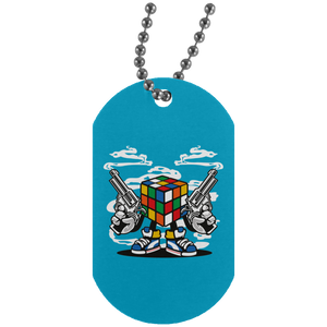 Rubix Killer Silver Dog Tag
