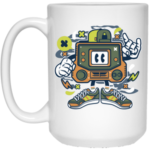 Retro Gamer 15 oz. White Mug