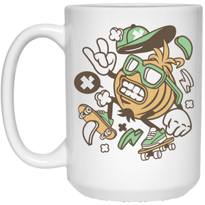 Onion Skater 15 oz. White Mug