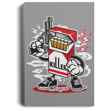 Load image into Gallery viewer, Cigarette Killer Portrait Canvas .75in Frame