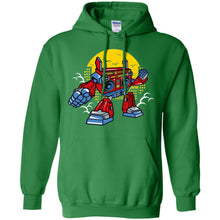 Load image into Gallery viewer, Boombox Robot Pullover Hoodie 8 oz.