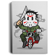 Load image into Gallery viewer, Killer Minibike Portrait Canvas .75in Frame