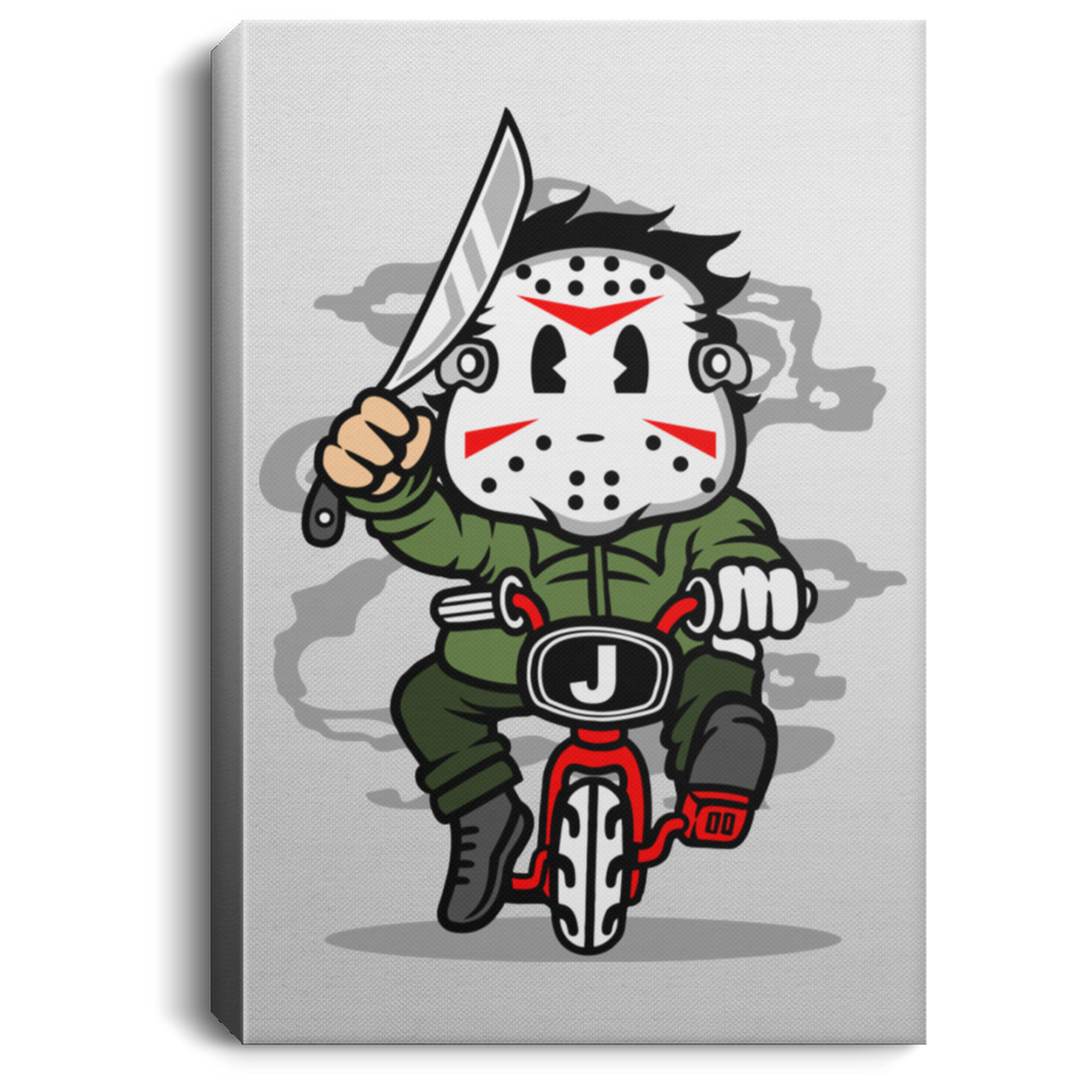 Killer Minibike Portrait Canvas .75in Frame