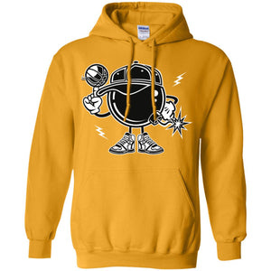 Basketball Bombers Pullover Hoodie 8 oz.