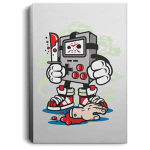 Gamers Killer Portrait Canvas .75in Frame