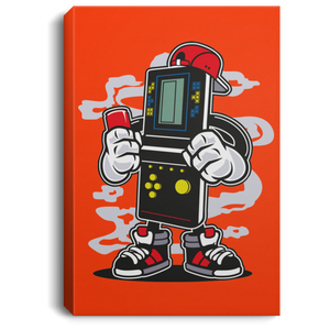 Brick Gamers Portrait Canvas .75in Frame
