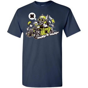 Hot Rod Skull T-Shirt