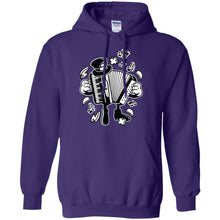 Load image into Gallery viewer, Accordion Pullover Hoodie 8 oz.