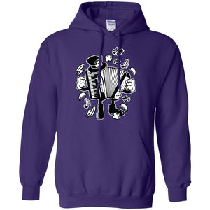 Accordion Pullover Hoodie 8 oz.