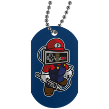 Load image into Gallery viewer, Player Head 1 Silver Dog Tag