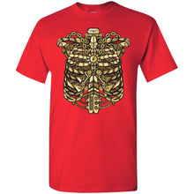 Load image into Gallery viewer, Steampunk Rib cage T-Shirt