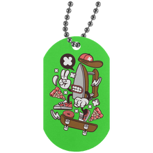 Load image into Gallery viewer, Dry Iron Silver Dog Tag