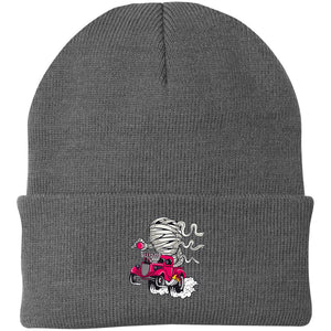 Mummy Race Knit Cap