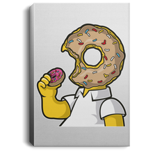 Load image into Gallery viewer, I Like Donut Portrait Canvas .75in Frame