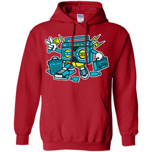 Load image into Gallery viewer, Boombox Pullover Hoodie 8 oz.