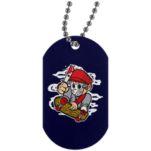 Load image into Gallery viewer, Killer Skater Silver Dog Tag