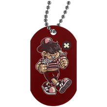 Load image into Gallery viewer, Bad Kid Silver Dog Tag