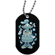 Load image into Gallery viewer, Carousel Silver Dog Tag