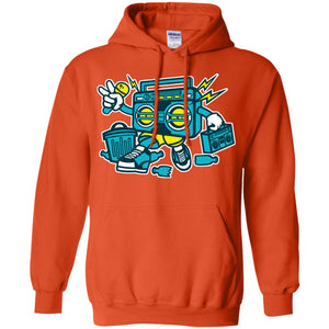 Boombox Pullover Hoodie 8 oz.