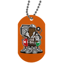 Load image into Gallery viewer, Chocolate Squad Silver Dog Tag