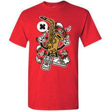 Load image into Gallery viewer, Saxophone T-Shirt