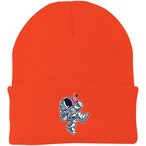 Astronaut Ice Cream Knit Cap